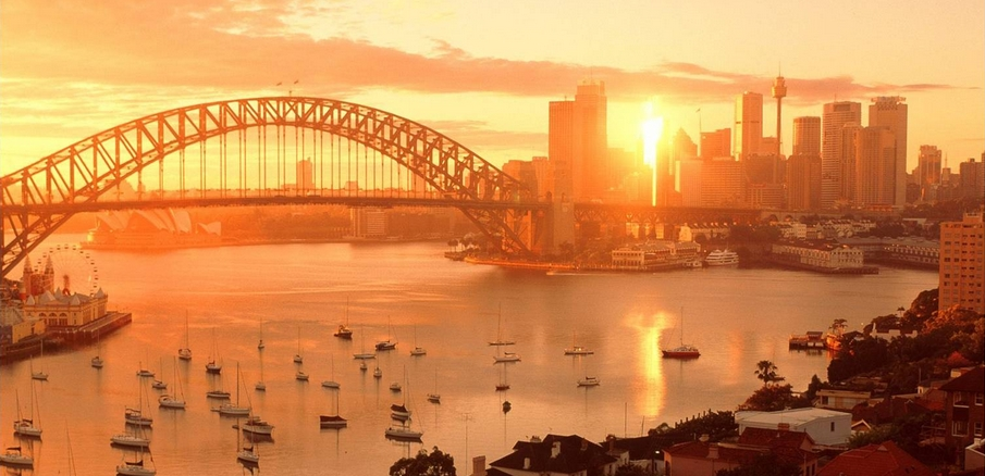 Sydney harbour sunset magic charters