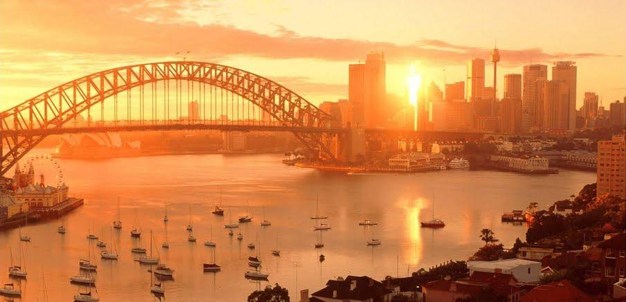 Sydney harbour sunset magic charters