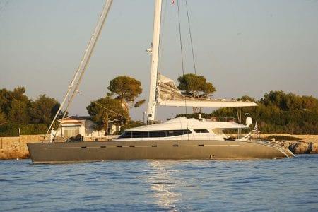superyacht charter allures catamaran yacht sailing mediterranean italy france spain corsica sardinia ocean alliance