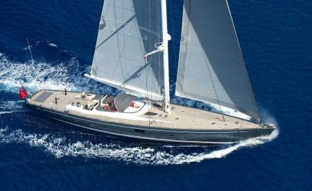 SILVERTIP sailing yacht charter South Pacific French Polynesia Fiji New Zealand Raja Ampat ocean alliance hire experience