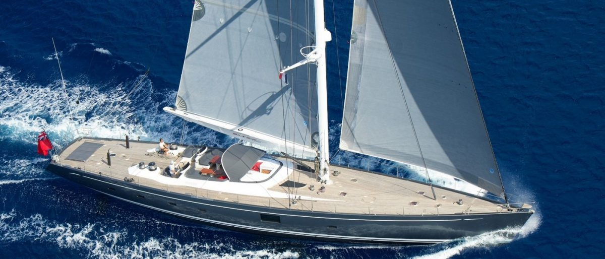 Silvertip sailing yacht pacific