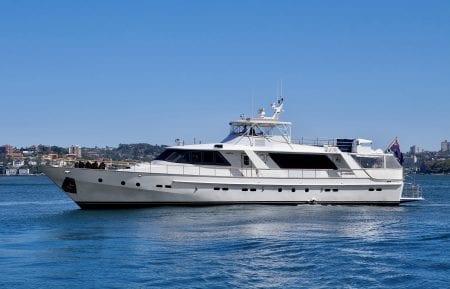 HIILANI Australia Sydney harbour luxury event charter SUPERYACHT yacht ocean alliance
