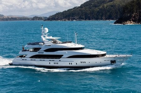 sovereign superyacht charter experience australia yacht sydney harbour australia whitsundays great barrier reef