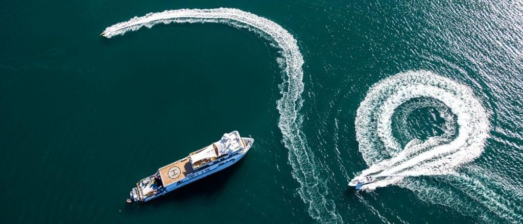 SURI superyacht charter south pacific fiji jacuzzi