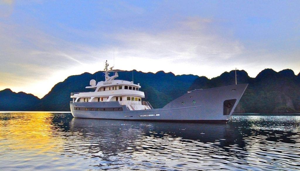 ANDA superyacht adventure charter kimberleys australia