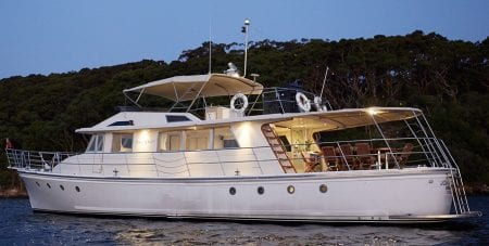 john oxley superyacht yacht charter luxury event sydney harbour australia ocean alliance