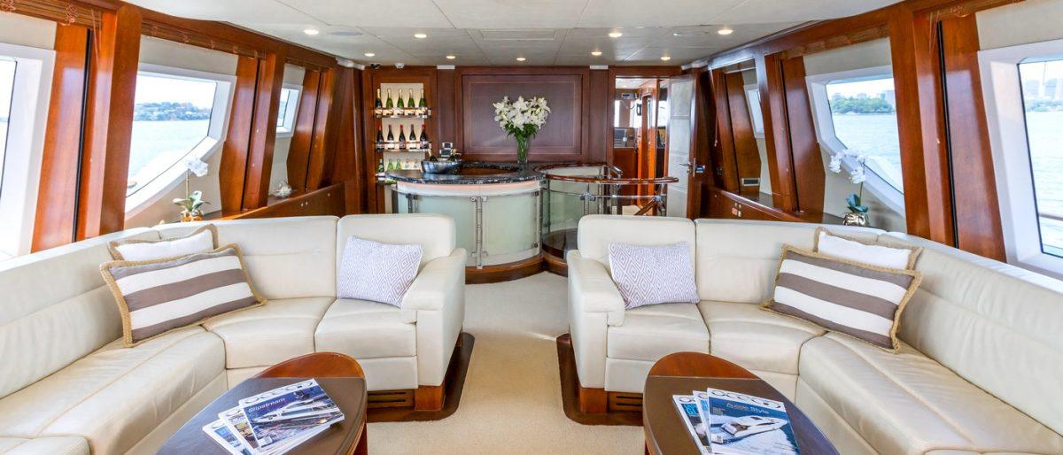 MASTEKA 2 yacht charter sydney harbour fiji