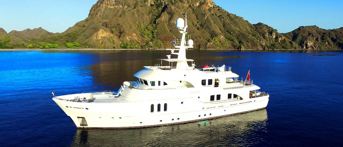 BELUGA superyacht charter in Australia Great Barrier Reef exploring holidays diving fishing