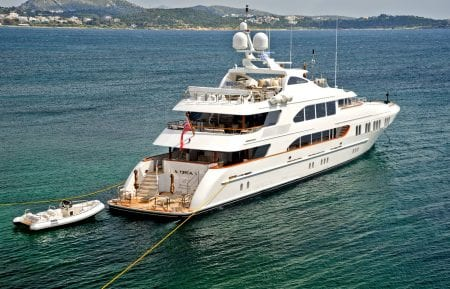 la dea II superyacht charter event luxury yacht ocean alliance australia south pacific fiji tahiti thailand