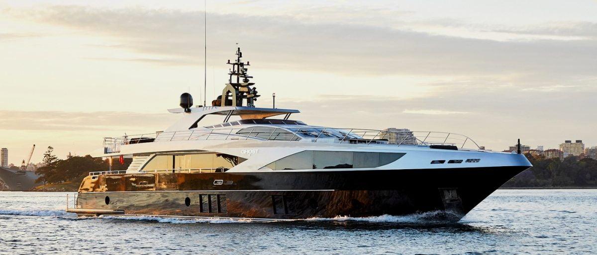 superyacht ghostii ghost 2 luxury charter yacht event superyacht sydney harbour hire ocean alliance