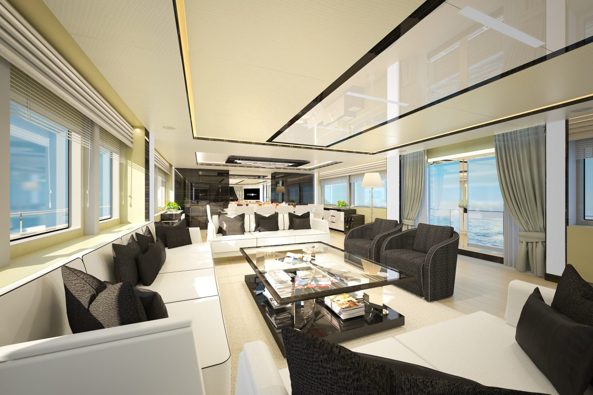 GHOST II gulf craft majesty superyacht charter australia ocean alliance