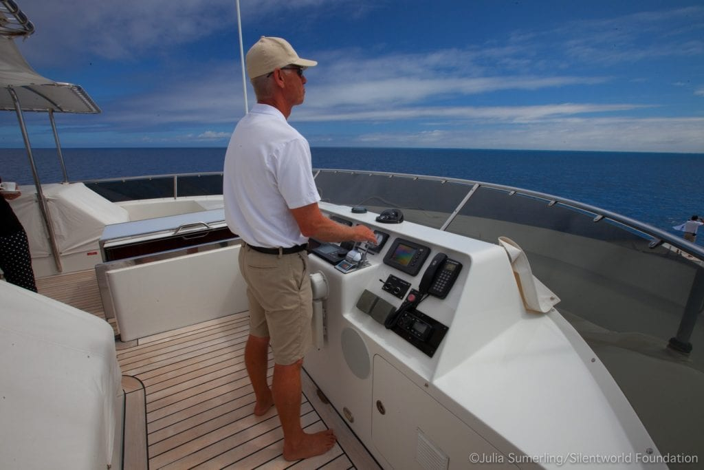 SILENTWORLD captain log Michael Gooding superyacht SILENTWORLD ocean alliance australia