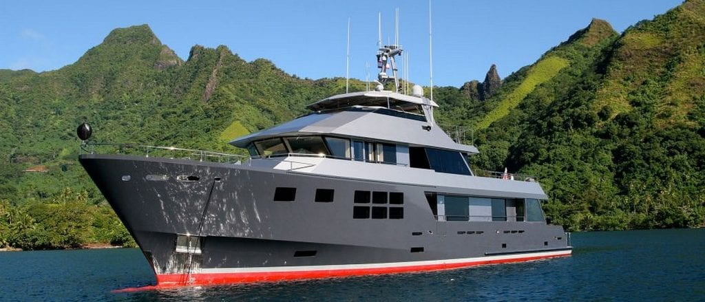 superyacht akiko charter ocean alliance australia luxury expedition cabin cruise kimberley