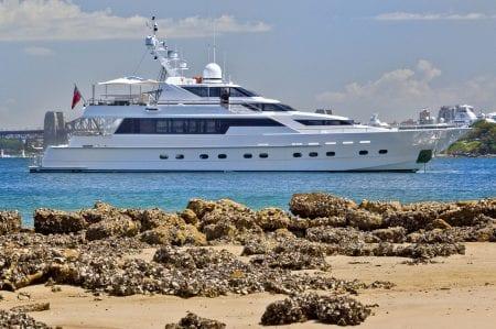 OSCAR II Sydney Harbour luxury event Yacht charter superyacht australia