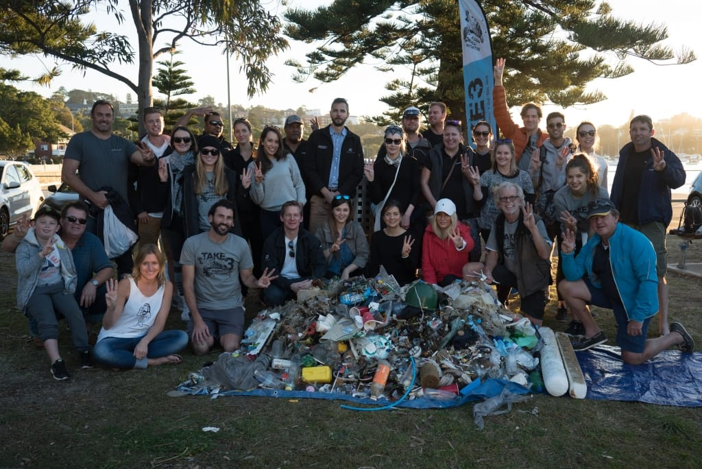Over 20,000 pieces of plastic removed from SydneyBeaches by Superyacht Crew