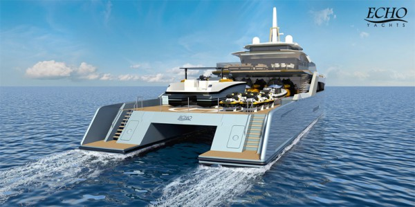 Australian custom Superyacht builder Echo Yachts are excited to