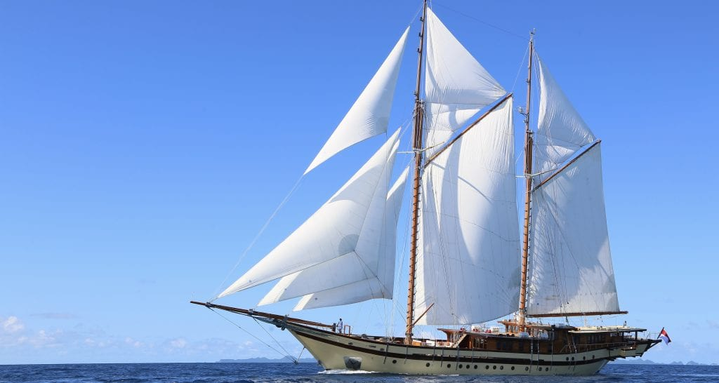 LAMIMA superyacht yacht charter ocean alliance hire specialists indoniesia