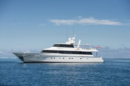 DREAMTIME superyacht charter luxury event australia motor yacht Great Barrier Reef Gold Coast Sydney Tasmania South Australia ocean alliance