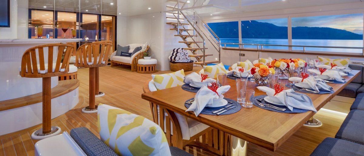 ENDLESS SUMMER, Fiji, New Zealand, superyacht, charter, luxury, travel, yachtcharter,summer main deck