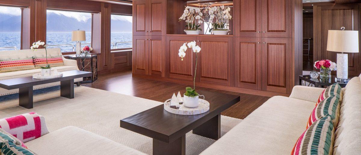 ENDLESS SUMMER, superyacht,charter, yachtcharter, Fiji, New Zealand, travel, luxury, main salon