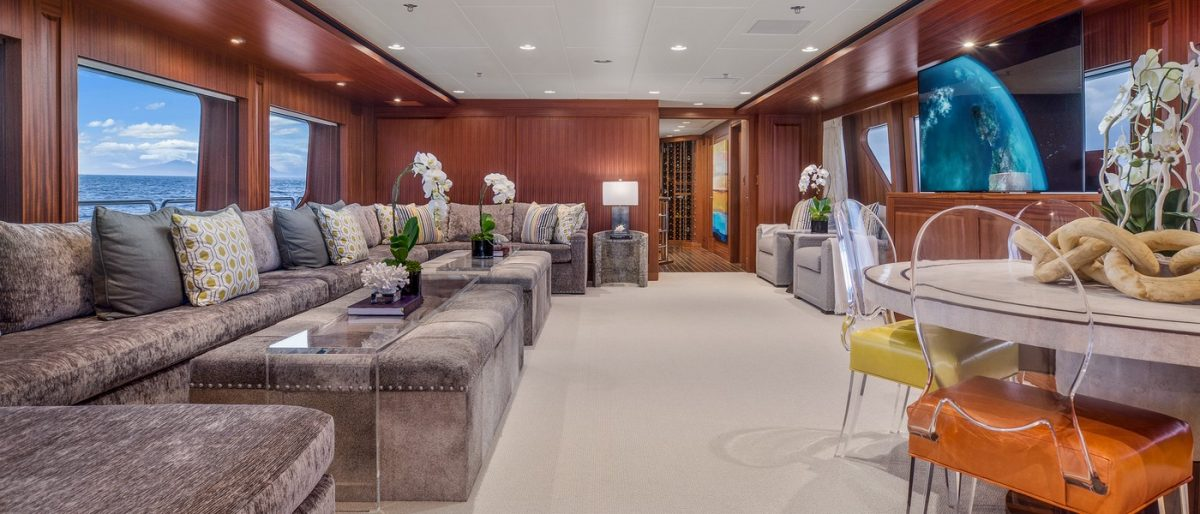 ENDLESS SUMMER, superyacht,charter, yachtcharter, Fiji, New Zealand, travel, luxury, summer upper salon
