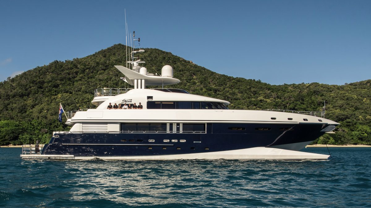 SPIRIT superyacht yacht charter hire ocean alliance