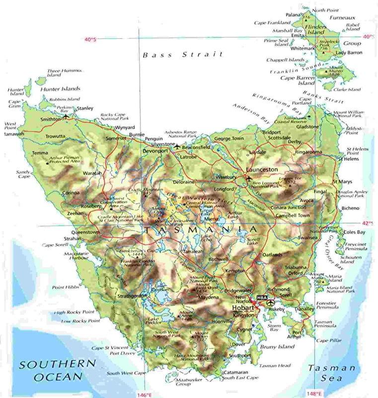 питерских остров тасмания картинки на карте можете заметить