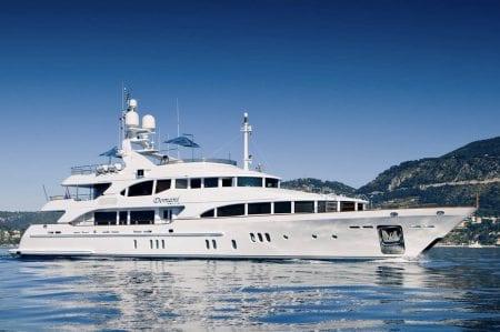 DOMANI suoeryacht yacht charter hire ocean alliance