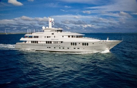 DREAM suoeryacht yacht charter hire ocean alliance