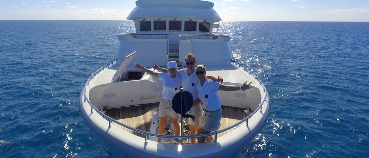 BELUGA yacht charter great barrier reef australia superyacht charters marlin fishing