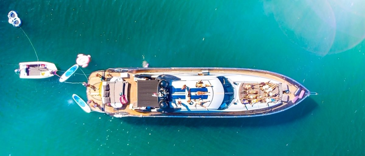 superyacht murcielago charter sydney harbour yacht hire australia event
