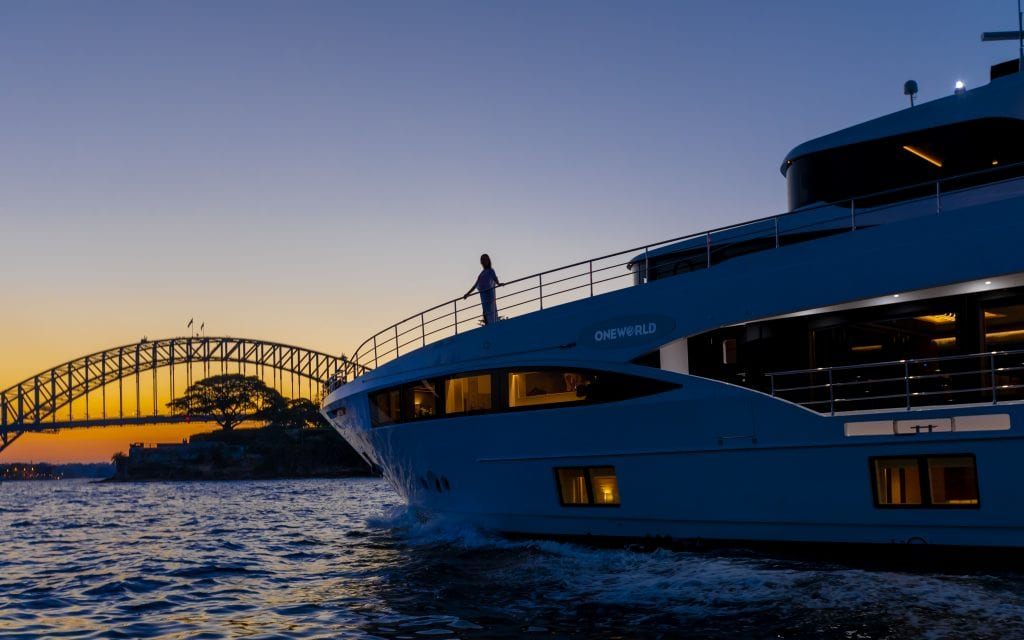 Oneworld Superyacht Charter Australian Superyacht Redezvous