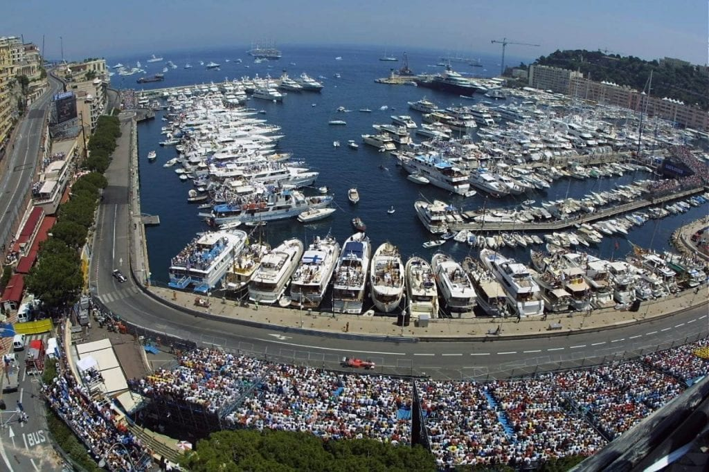 Yacht Charter at the Monaco Formula 1