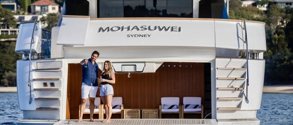 Superyacht charter Sydney Harbour