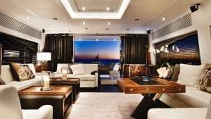 Sunseeker Predator For Sale White Modern Interior