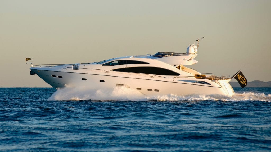 Sleek exterior of Sunseeker Predator for sale