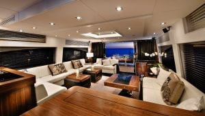 Seamless interior and exterior entertaining spaces
