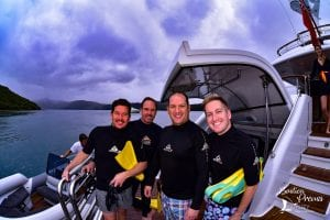 Dive and marine biologist New Caledonia superyacht