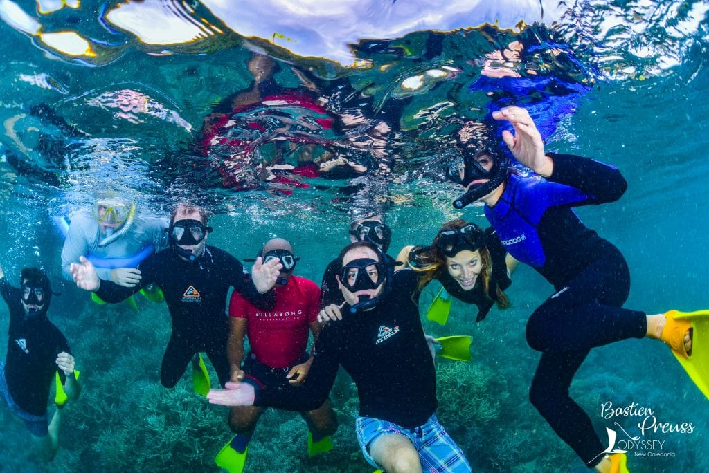 Local dive expert superyacht New Caledonia