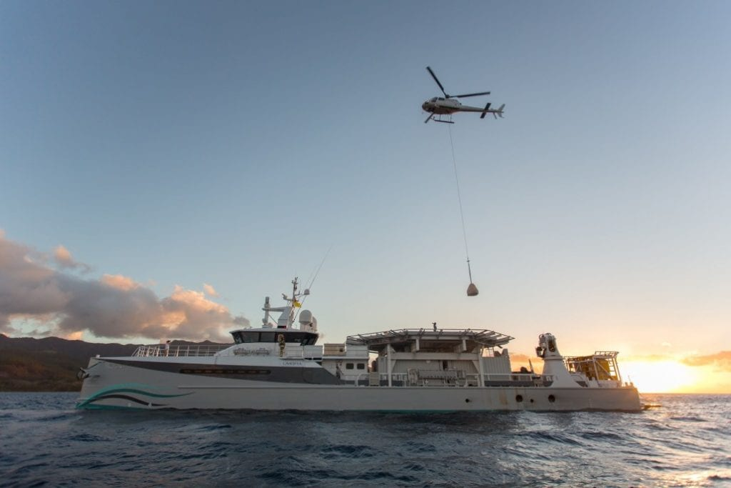 Superyachts supporting aid efforts