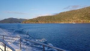 Cruising Whitsunday Islands on a superyacht