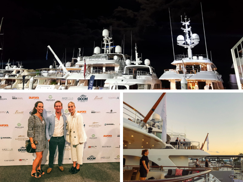 An overview of the Australian Superyacht Rendezvous