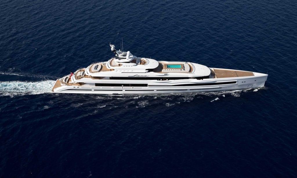 LANA benetti superyacht charter brokerage benetti