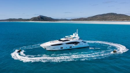 MY THREE RIVERS superyacht charter whitsundays australia holiday