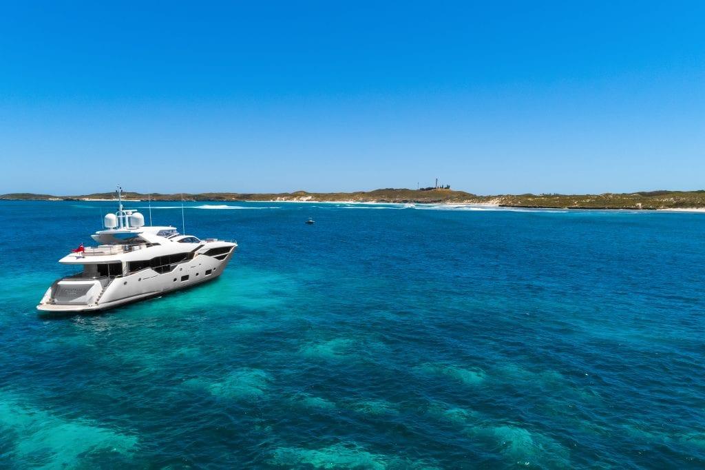 Rottnest Island superyacht charter Western australia