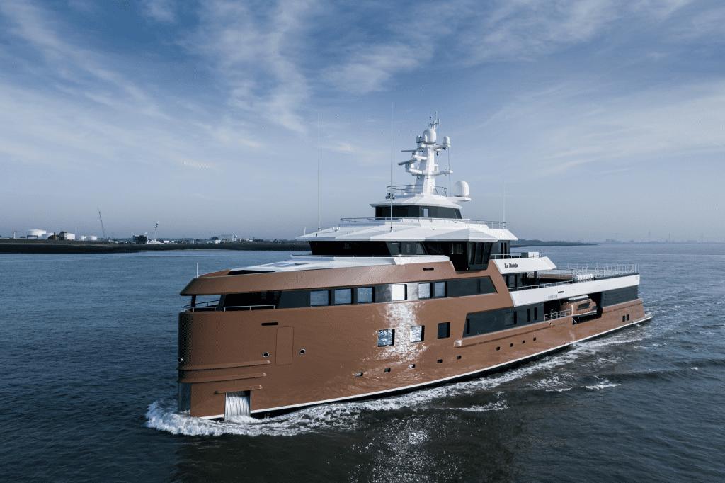 LA DATCHA explorer yacht launch 2020 superyacht