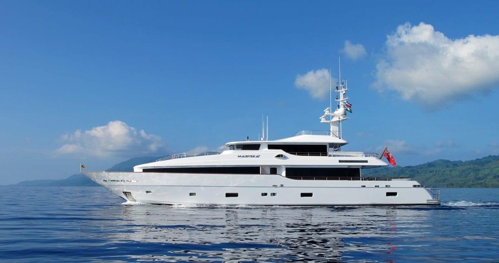 MASTEKA 2 Montefino superyacht charter