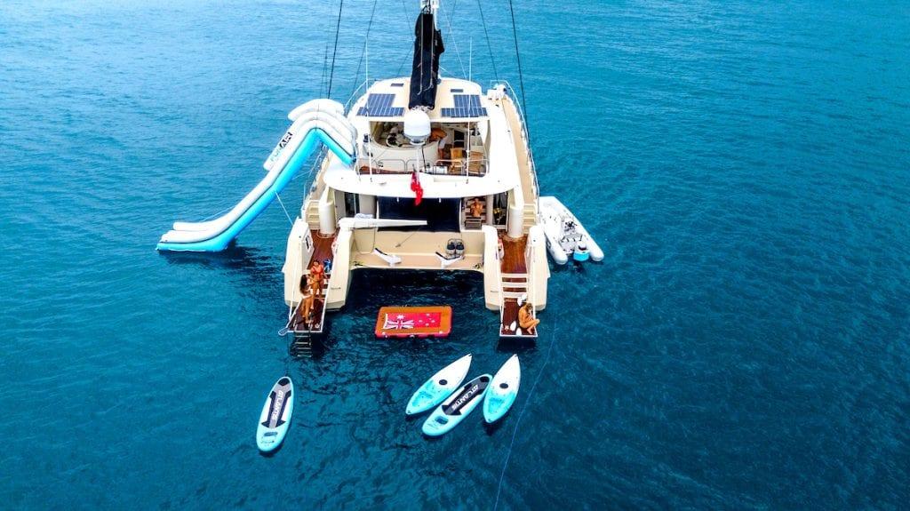 Jalun catamaran yacht charter